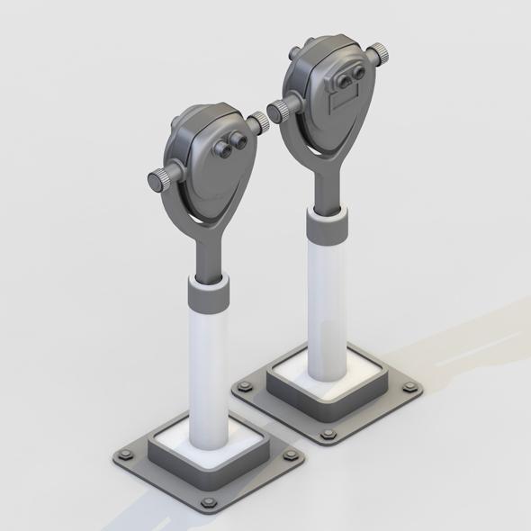 TOWER VIEWER TELESCOPE BINOCULAR - 3DOcean Item for Sale