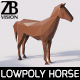Lowpoly Horse 001