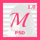 Medeline Multipurpose Blog PSD