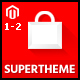 SuperTheme - Multi-purpose & Supermarket Magento 1.9 & Magento 2.1 Theme