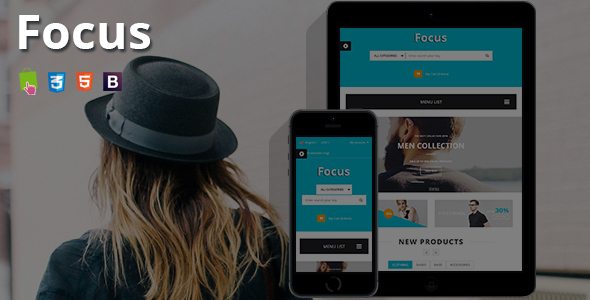 Focus - Responsive Prestashop Theme