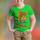 Playing Football Kids T-Shirt Design