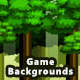 5 Forest Pixel Game Backgrounds - Parallax and Stackable