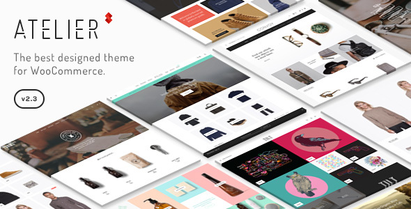 01 preview. large preview - Atelier - Creative Multi-Purpose eCommerce Theme
