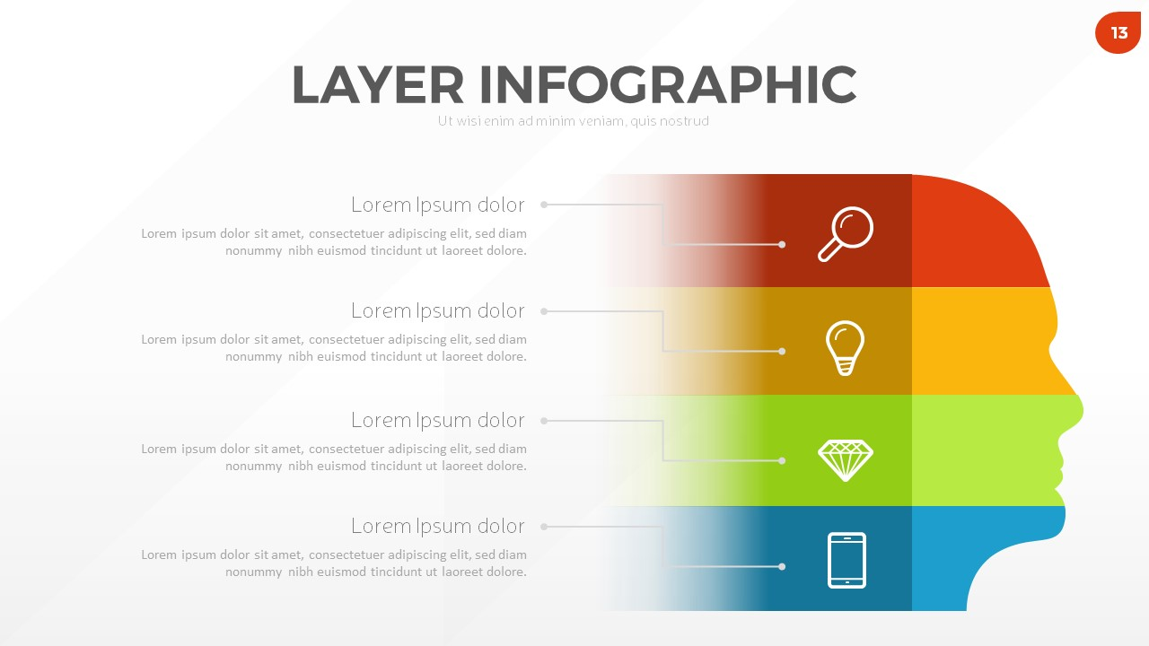 Layer Infographic Powerpoint Template By Rrgraph