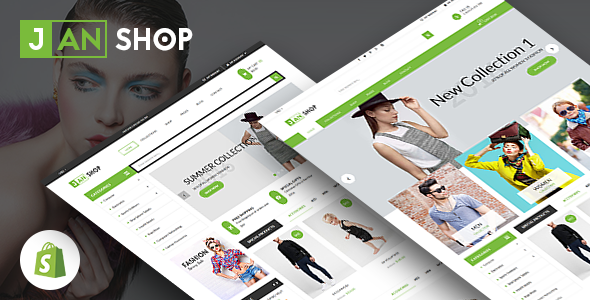 Image of SP JanShop - Clean and responsive Shopify Theme