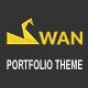 SWAN Company Portfolio Multi-purpose PSD Template