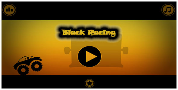 Black Racing - Buildbox & Android Game Template
