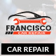 Francisco : Car Repair PSD Template