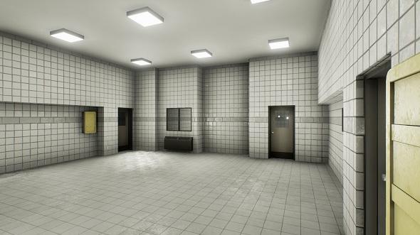 Facility interior modular UE4