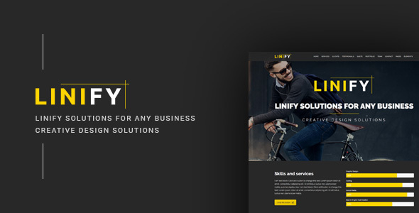 Download Linify - Multipurpose / Creative / Business / Corporate / Agency / Portfolio WordPress Theme nulled download