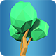 Low Poly Tree Model 01