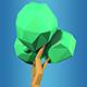 Low Poly Tree Model 01