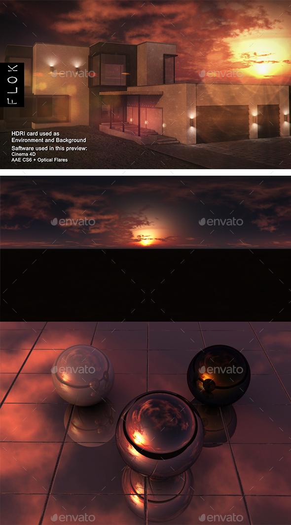 Sunset Desert 72 - 3DOcean Item for Sale