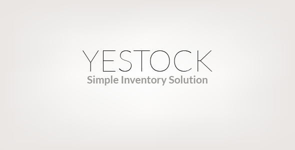 Yestock Stock Management System