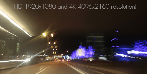 Traffic Speed Full-HD and 4K