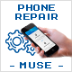 Phone Repair - Multipage Muse Template
