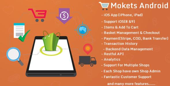 Mokets(Mobile Commerce Android Full Application)