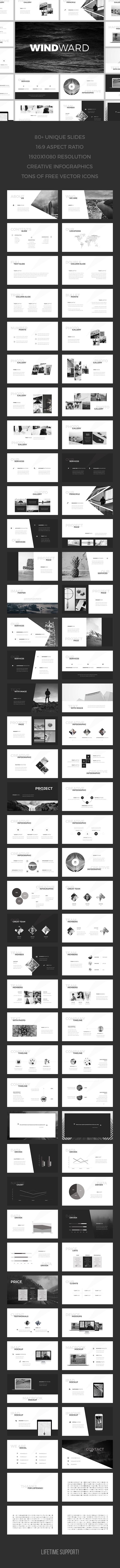 WindWard PowerPoint Template (PowerPoint Templates)