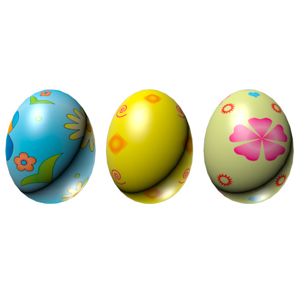 3DOcean Easter Eggs Set 01 1746037