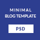 ROJA - Minimal WordPress Blog Template