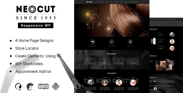 Download Neo Cut | Beauty Salon WordPress Theme nulled download