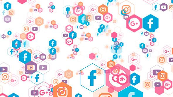 Download Social Media Background nulled download