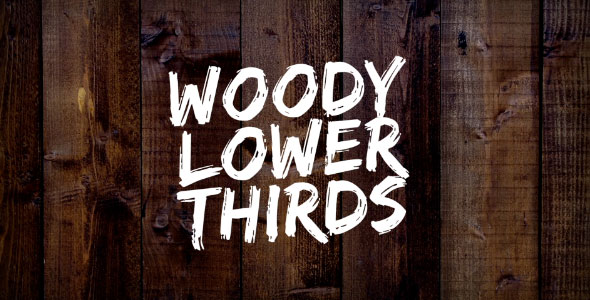 Download Woody Lower Thirds nulled download