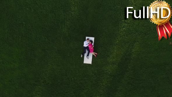 Download Aerial Video of Couple Lying on the nulled download