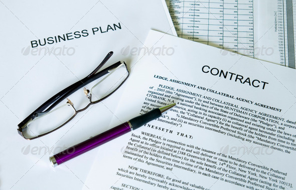 business plan series - Stock Photo - Images