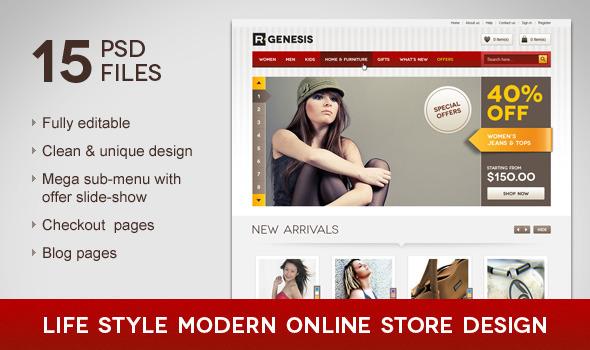 ThemeForest Life Style Modern Online Store Design 1746655