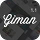 Giman - Product and Deals Landing Page Template