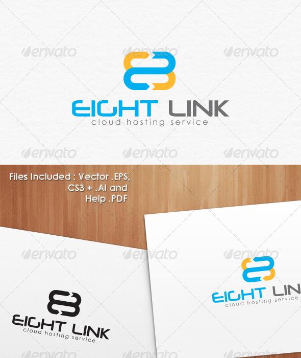 GraphicRiver 8 Eight Cloud Hosting Logo Template 1746985