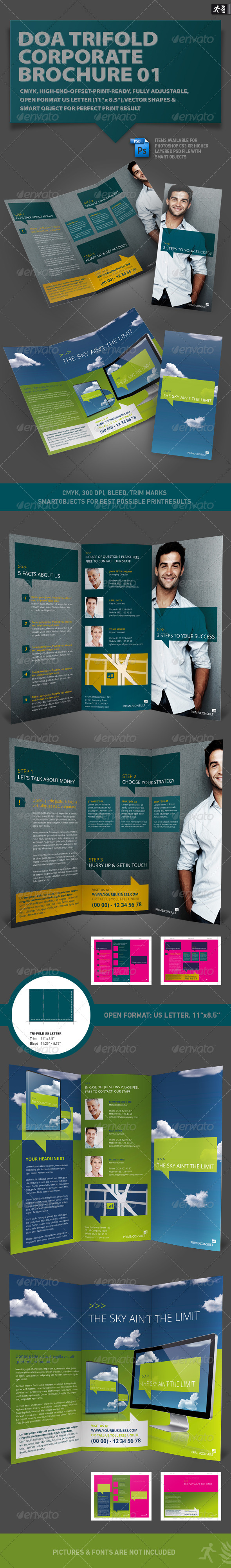 GraphicRiver DOA Trifold Corporate Brochure 01 1747257