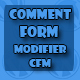 Comment Form Modifier – CFM (Forms) Download