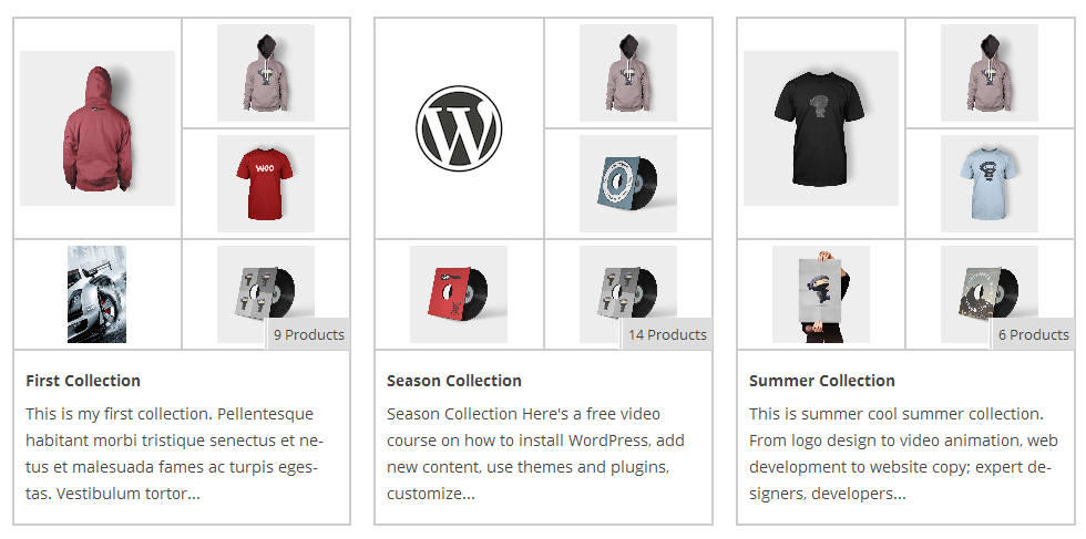 Woo Product Collections - WordPress Plugin 3