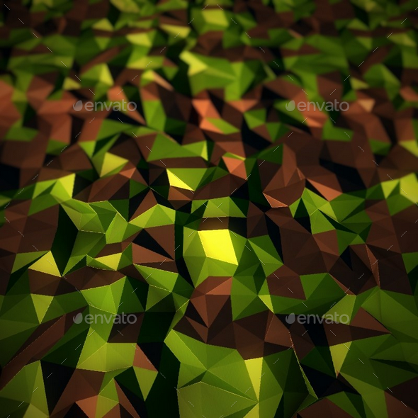 Low Poly Grass / Mud Texture - 3DOcean Item for Sale