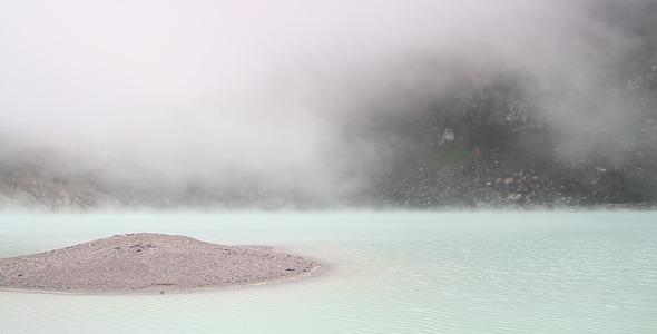 VideoHive Fog on Lake Surface 1747957