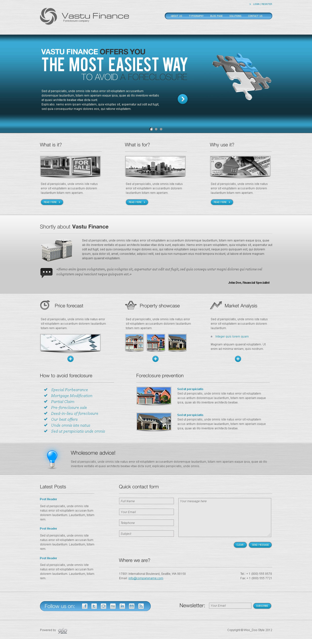 Vastu Finance - HTML Template