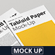 Tabloid Paper Mock-Up - 11x17