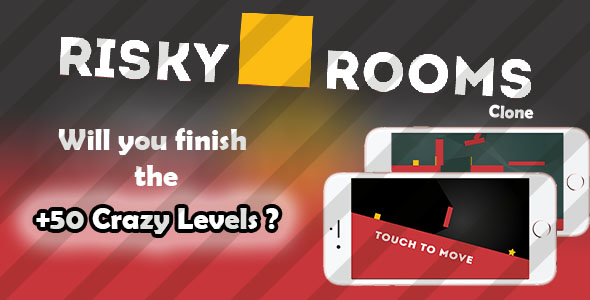 Risky Rooms – Android Game Template (Games) Download