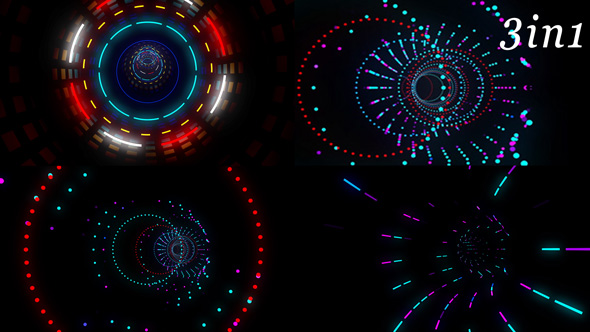 Download Neon Tunnel - Vj Loop Pack (3in1) nulled download