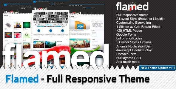 ThemeForest Flamed 1257927