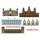 Temples, Mosques of Cambodia and Bangladesh Icon