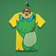 Happy Dino Kids T-Shirt