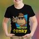 Brown Gorilla Kids T-Shirt