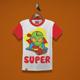 Super Alien Kids T-Shirt Design