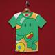 Elephant playing Kids T-Shirt