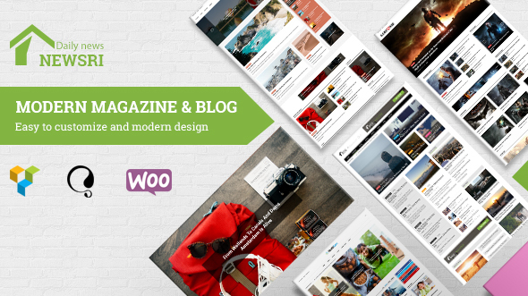 Newsri - WordPress Magazine Theme