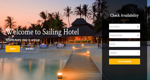 Amazing WordPress Hotel Theme